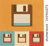 Retro Icons   Floppy Disk