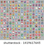 alphabetically sorted circle... | Shutterstock .eps vector #1419617645