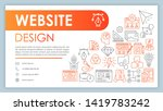 website design banner  business ...