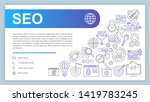 seo web banner  business card...