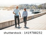 fit senior man in good shape... | Shutterstock . vector #1419788252