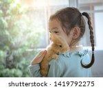 Kind little cute girl 5 6 years ...