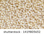 close up of couscous grains... | Shutterstock . vector #1419805652