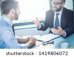 business people negotiating a... | Shutterstock . vector #1419806072