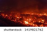 lava flow in detail  photo... | Shutterstock . vector #1419821762