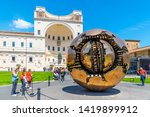 vatican city   may 07  2018 ... | Shutterstock . vector #1419899912