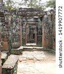 Small photo of Siem Reap, Siem Reap, Cambodia - november 9, 2018: Angkor Ruins