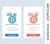 world  map  navigation ...   Shutterstock .eps vector #1419921248