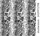 Animal Print  Snake Skin...
