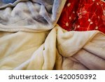 pile of clothes. closedup of...   Shutterstock . vector #1420050392