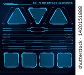 set of sci fi modern user...