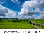 rural countryside in italy... | Shutterstock . vector #1420182875