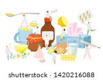 phytotherapy and traditional... | Shutterstock .eps vector #1420216088