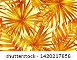 Orange Yellow Exotic Pattern....