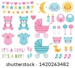 Baby Boy And Girl Design...