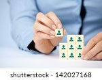 human resources  social... | Shutterstock . vector #142027168