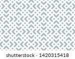 abstract geometric pattern. a... | Shutterstock .eps vector #1420315418