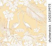 seamless pattern  background... | Shutterstock .eps vector #1420319975