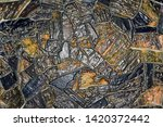 background mosaic black with...
