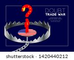 man pictogram and question mark ... | Shutterstock .eps vector #1420440212