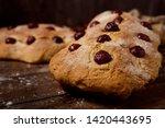 closeup of some coca de cireres ...   Shutterstock . vector #1420443695