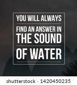 motivational quotes.... | Shutterstock . vector #1420450235