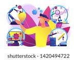 multidisciplinary teaching... | Shutterstock .eps vector #1420494722