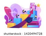 qualification increase course ...   Shutterstock .eps vector #1420494728