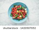 Fresh Bright Tomato Salad From...