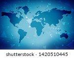 digital abstract technology... | Shutterstock . vector #1420510445
