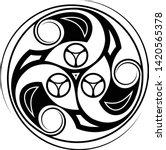 sacred geometry. sacred symbol... | Shutterstock .eps vector #1420565378