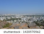 A view from the Golconda Fort, Hyderbad