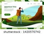 Vector Illustration   Travel...