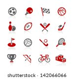 sports icons    redico series | Shutterstock .eps vector #142066066