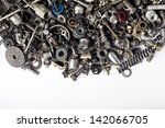 metal waste and scrap  metal... | Shutterstock . vector #142066705