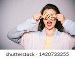 full of sweet chocolate flavors....   Shutterstock . vector #1420733255