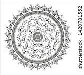 circular pattern in form of...   Shutterstock .eps vector #1420781552