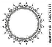 circular pattern in form of...   Shutterstock .eps vector #1420781555