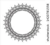 circular pattern in form of...   Shutterstock .eps vector #1420781558