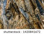 geological rock full of veins...   Shutterstock . vector #1420841672