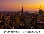 New York City Aerial View Of...