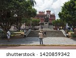 panama city  panama   march 03  ...   Shutterstock . vector #1420859342