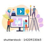 people workers team characters...   Shutterstock .eps vector #1420923065