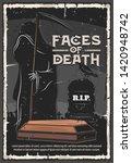 funeral service  burial... | Shutterstock .eps vector #1420948742