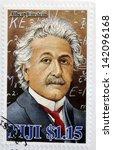 fiji   circa 2005  a stamp... | Shutterstock . vector #142096168