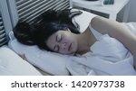 Portrait Of Sleeping Woman...