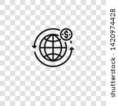 worldwide icon from  collection ... | Shutterstock .eps vector #1420974428