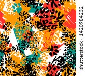 Animal Print Skin Of Leopard ...