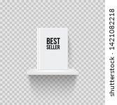book with bestseller word on... | Shutterstock .eps vector #1421082218