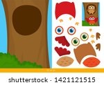educational children game ... | Shutterstock .eps vector #1421121515